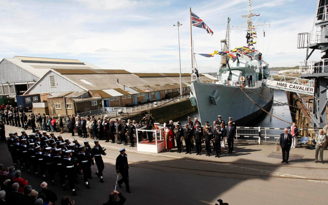 70th Anniversary of the launch of HMS Cavalier