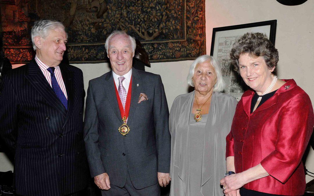 From L-R: The Lord Lieutenant Viscount De L'Isle, Chairman of KCC Mr Mike Harrison, Mrs Jeanne Harrison, and Viscountess De L'Isle (c) Barry Duffield