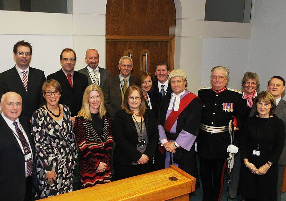 Newly appointed magistrates, 13th december, 2012