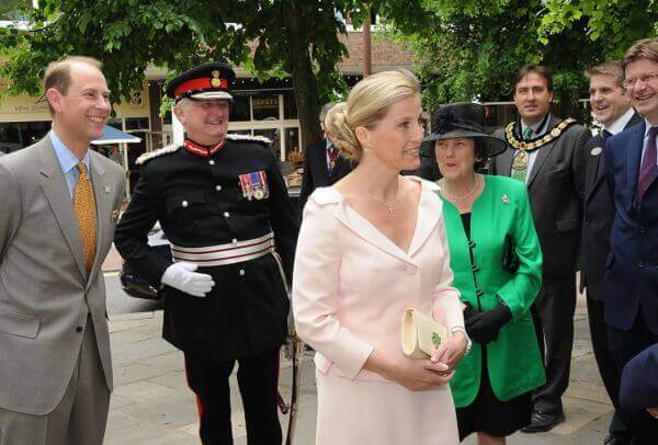 Diamond Jubilee Visit to Kent by The Earl and Countess of Wessex – 31st May, 2012