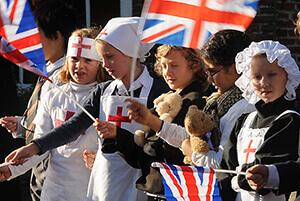 Lord Lieutenant Praises Blitzed Village's Community Spirit in Sturry, near Canterbury
