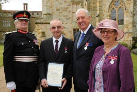 Presentation of British Empire and Imperial Service Medals, 17th April 2013