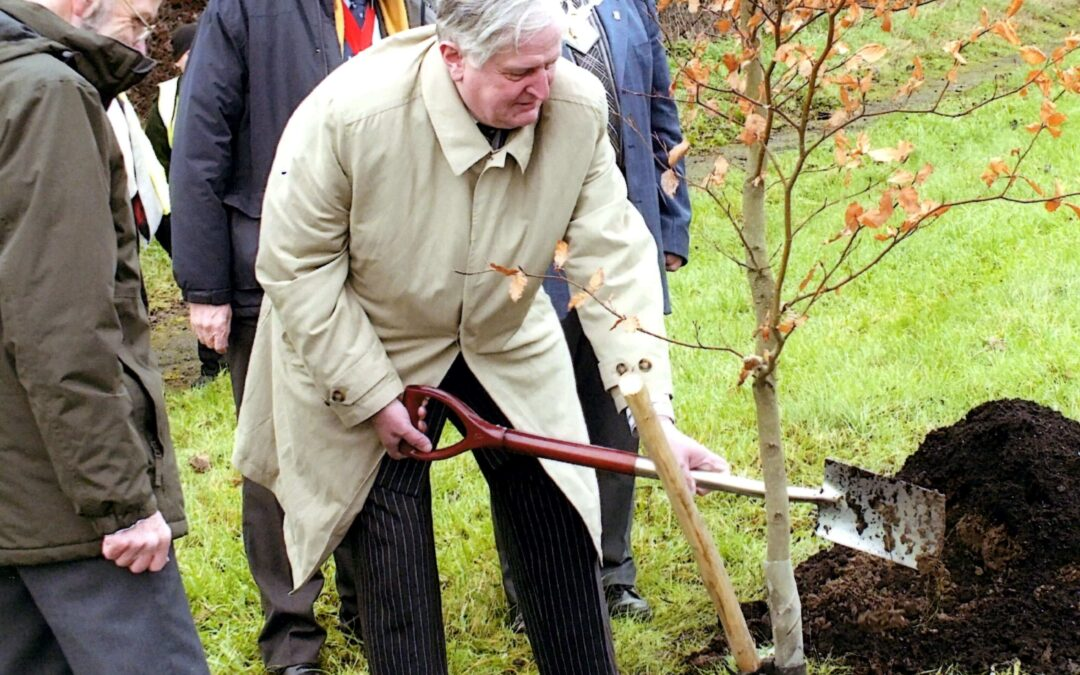 Charing Jubilee tree planting