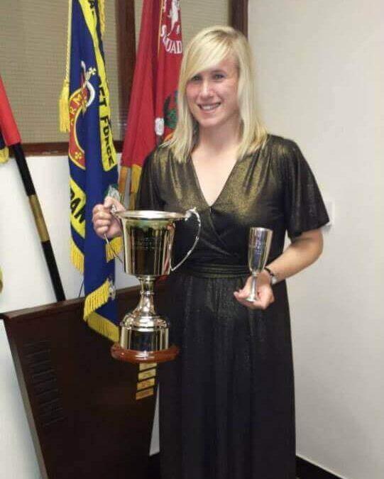 Adult Under Officer, Hannah Green, Detachment Commander (DC) Dartford.