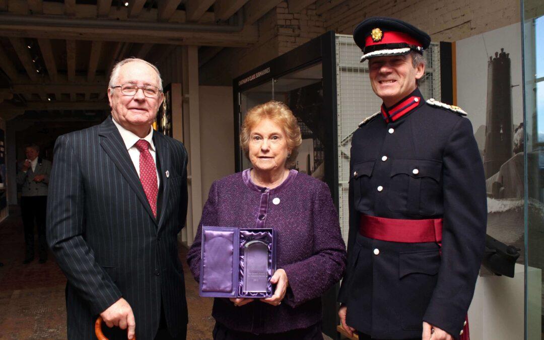 Queen's Award Presentation