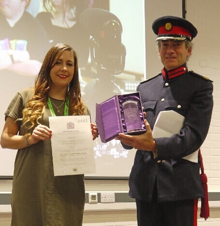 Square Pegs honoured with Queen's Award for Voluntary Service, 23rd November, 2017