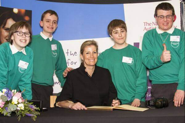 HRH The Countess of Wessex's visit to Helen Allison School (Meopham)