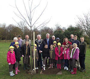 Swanley Tree Planting ceremony