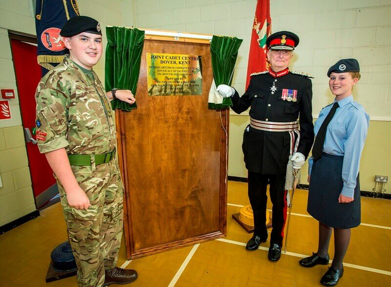 Dover Joint Cadet Centre Opening