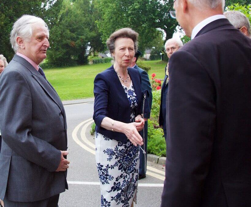 The Lord-Lieutenant of Kent presenting the Princess Royal to Headmaster Dr Weeds. (c)Ali Kittermaster at Blush Photography