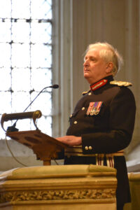The Lord-Lieutenant giving his address. (c) Rob Berry.