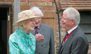 The Lord-Lieutenant presents HRH Princess Alexandra to The High Sheriff of Kent, Mr Paul Barrett. (c) Ian Hamilton.