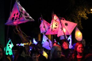 Spectacular lantern procession (c) Kent Equality Cohesion Council.