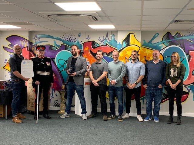 Atom Brands Queen's Award for Enterprise ceremony, 17th October 2019