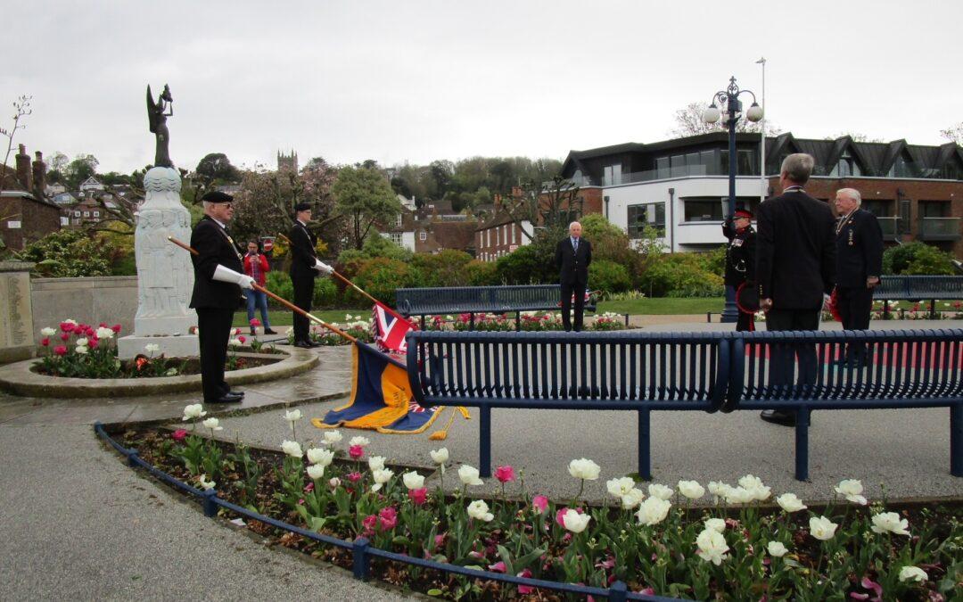 Royal British Legion 100th Anniversary in Hythe