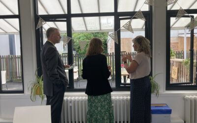 Lord-Lieutenant's Visit to Oakley College