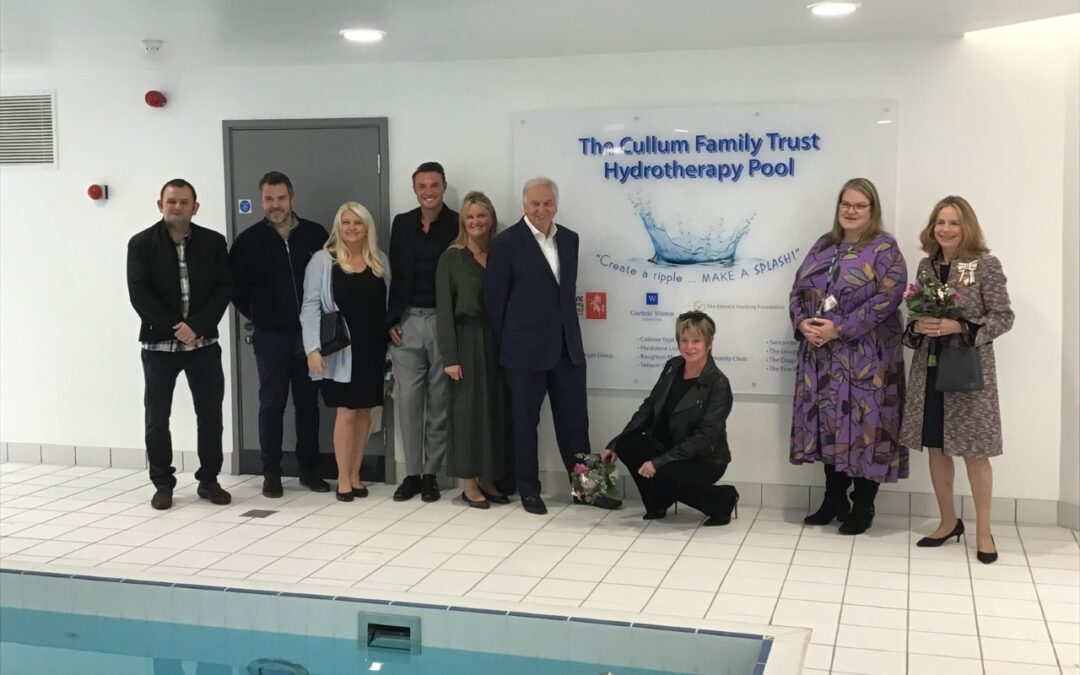 Opening of Hydrotherapy Pool at Five Acre Wood School